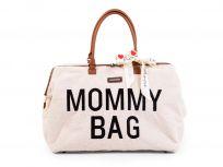 CHILDHOME Prebaľovacia taška Mommy Bag Teddy Off White