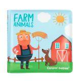CANPOL BABIES Knížka měkká pískací Farm Animals