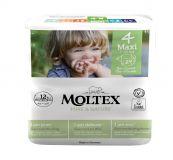 MOLTEX Pure & Nature Plienky Maxi 7-18 kg - ekonomické balenie (6 x 29 ks)
