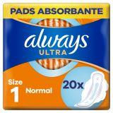 ALWAYS Ultra Normal Vložky hygienické 20 ks