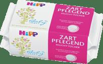 2x HIPP Babysanft Detské čistiace vlhčené obrúsky 56 ks