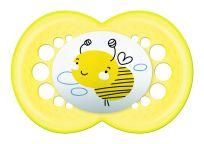 MAM Dudlík Original 16m+, silikon žlutá včela