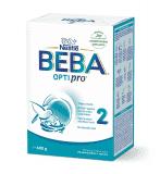 BEBA OPTIPRO 2, dojčenská mliečna výživa, 600 g krabica (2x300 g)