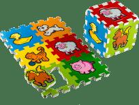 TEDDIES Penové puzzle Moje prvé zvieratká