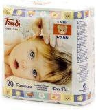TRUDI BABY Dry Fit Medium 4-9 kg (20 ks) s vrstvou Perfo-Soft  – dětské pleny