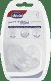 CHICCO Dudlík celosilikonový Physio Soft 0-6m