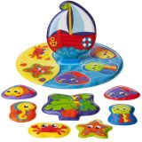 PLAYGRO Plovoucí puzzle do vany