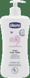 CHICCO Jemné hydratační tělové mléko s dávkovačem, 500 ml