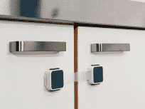 LINDAM Dvojitá víceúčelová bezpečnostní zábrana nalepovací 1ks (Xtra Guard)