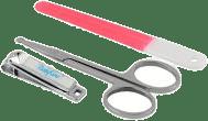 BABYONO Set - dětská manikúra – červená