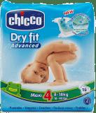 CHICCO Plenky Maxi 19ks (8-18kg) – jednorázové pleny