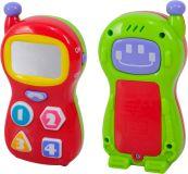 WIKY Telefon dětský 13 cm, na baterie