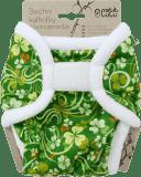 PETIT LULU Novorozenecké svrchní kalhotky (4 - 6 kg) - Čtyřlístky