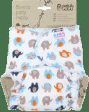 PETIT LULU Kalhotková plena na patent (4 – 15 kg) - Sloníci oranžoví