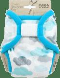 PETIT LULU Novorozenecké svrchní kalhotky (2 – 6 kg) - Mráčky