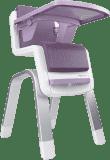NUNA Jídelní židlička Zaaz – Plum