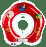 TEDDIES Kółko do pływania dla niemowląt Flipper czerwone