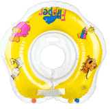 TEDDIES Plavací nákrčník Flipper žlutý