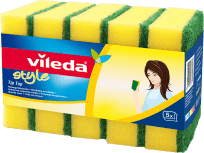 VILEDA Zmywak Style Tip Top (5 szt.)