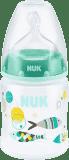 NUK First Choice+ Láhev PP 150 ml, silikon, velikost 1 (0-6 m), M – zelená