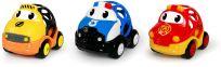 OBALL Hračka záchranná vozidla Dan, Ben a Zac Oball Go Grippers 18m+