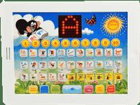 TEDDIES Tablet Krecika dla najmłodszych dwujęzyczny