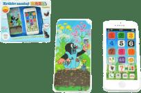 TEDDIES Krtkov náučný mobil telefón s krytom