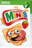 NESTLÉ Strawberry Minis 450 g – płatki śniadaniowe