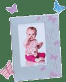 KARPEX Fotorámik detský 10x15cm Motýliky - ružový