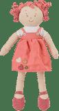 BABYONO Hračka panenka Lily oranžová 37cm