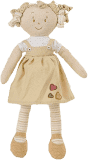 BABYONO Hračka panenka Lily žlutá 37cm