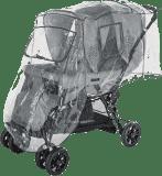 DIAGO Pláštenka na kočík pre dvojčatá - pozície za sebou