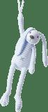 HAPPY HORSE Niebieski Króliczek w paski Reece Grający, 37 cm