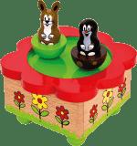 BINO Hrací skříňka - Krtek