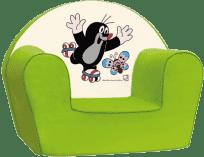 BINO Fotelik Krecik – zielony
