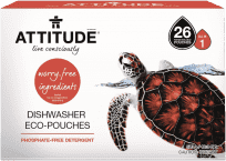 ATTITUDE Tablety do umývačky bez fosfátov (26 dávok)