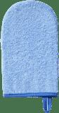 BABYONO Hubka na umývanie froté, modrá
