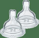 Philips AVENT Dudlík Anti-colic/Classic+ 2 pomalý průtok 1+ m, 2 ks