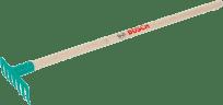KLEIN Hrabičky s dřevěnou násadou