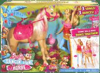 MATTEL BARBIE a tancujúci koník
