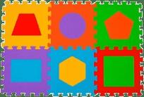 BABYONO Puzzle penové písmenká, 6 ks
