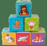 CANPOL BABIES Měkké kostky 6 ks