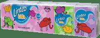 LINTEO KIDS Minichusteczki higieniczne, białe, trzywarstwowe, 10 x 10 szt.