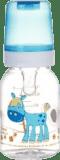 CANPOL BABIES Láhev s potiskem 120 ml bez BPA – oslík
