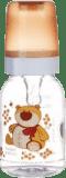 CANPOL BABIES Láhev s potiskem 120 ml bez BPA – medvídek