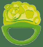 CANPOL BABIES Chrastítko s kousátkem new – zelené