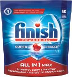 FINISH All in1 Max 50 szt. – Tabletki do zmywarki
