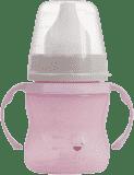 LOVI Hrníček tréninkový Retro 150 ml (6m+) - růžový