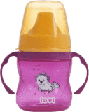 LOVI Kubek niekapek 150 ml (6m+) Hot&Cold – różowy