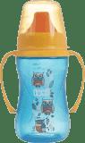 LOVI Kubek niekapek 250 ml (12m+) Folky – niebieski